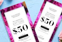 Amazing Gift Certificate Templates For Every Business in Pink Gift Certificate Template