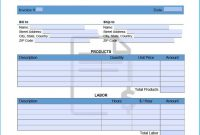 Amazing Past Due Invoice Template Which You Need To Make Invoices with I Need An Invoice Template