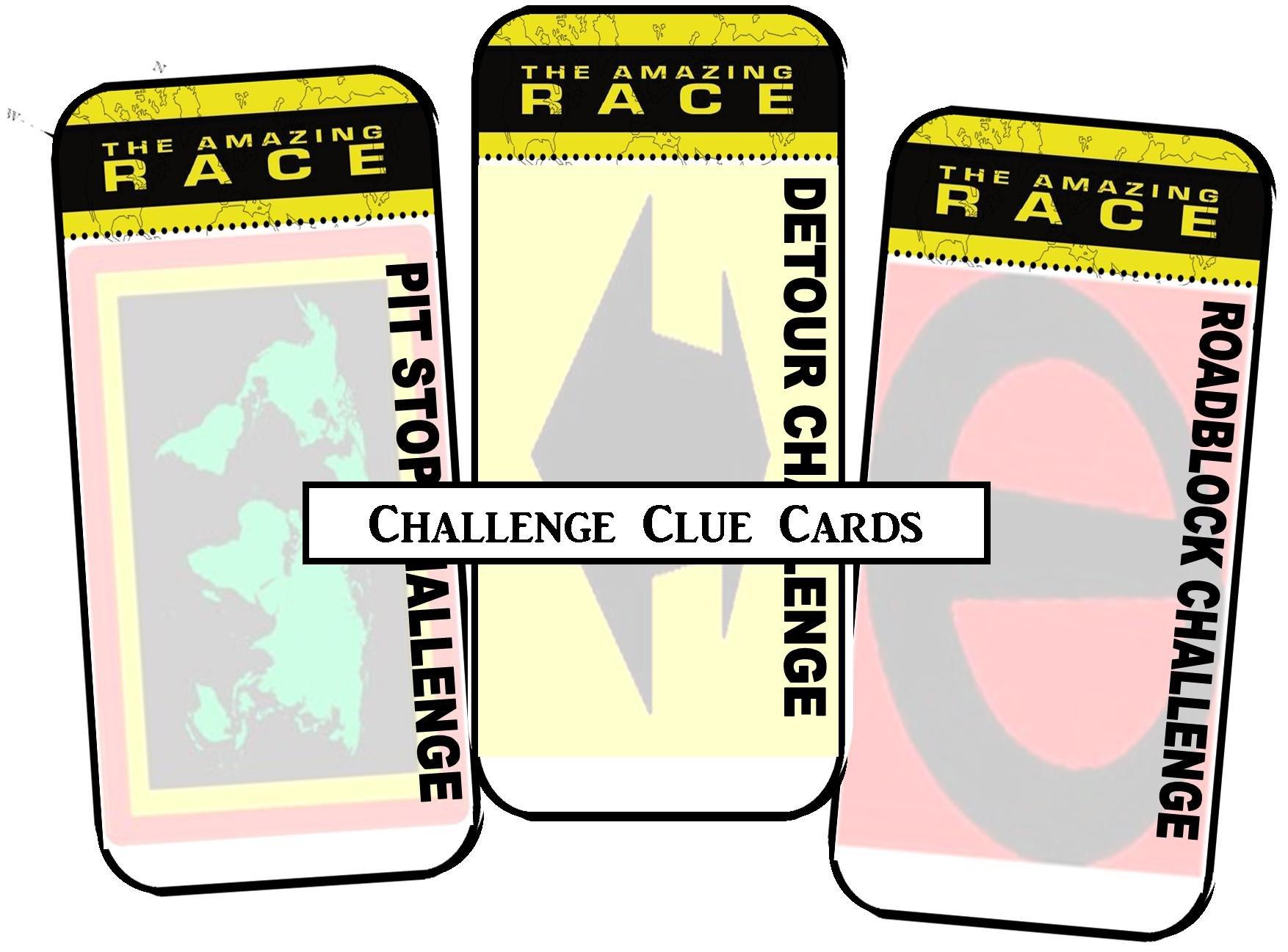 Amazing Race Printables Review  Concert Katie Regarding Clue Card Template