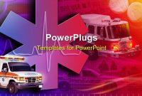 Ambulance Powerpoint Templates W Ambulancethemed Backgrounds throughout Ambulance Powerpoint Template