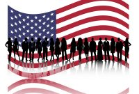 American Business People Powerpoint Templates  Business  Finance within American Flag Powerpoint Template
