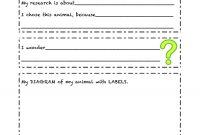 Animal Report Template  Sansurabionetassociats with Animal Report Template