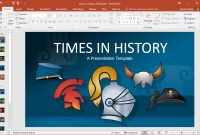 Animated Times In History Powerpoint Template inside Powerpoint Replace Template
