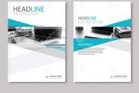 Annual Report Brochure Flyer Design Template Company Profile Stock regarding Business Profile Template Free Download