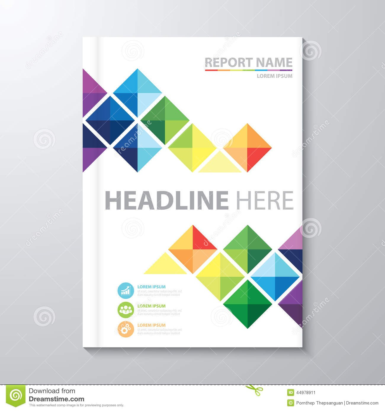 Annual Report Cover Page Templates Images  Annual Report Cover Within Cover Page Of Report Template In Word
