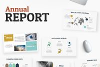 Annual Report Powerpoint Template  Ideas  Keynote Template regarding Annual Report Ppt Template