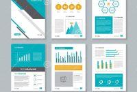 Annual Report Template Word Company Profile Brochure Flyer regarding Word Annual Report Template