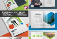 Annual Report Templates  With Awesome Indesign Layouts for Chairman's Annual Report Template