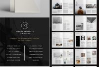 Annual Report Templates  With Awesome Indesign Layouts intended for Annual Report Template Word Free Download