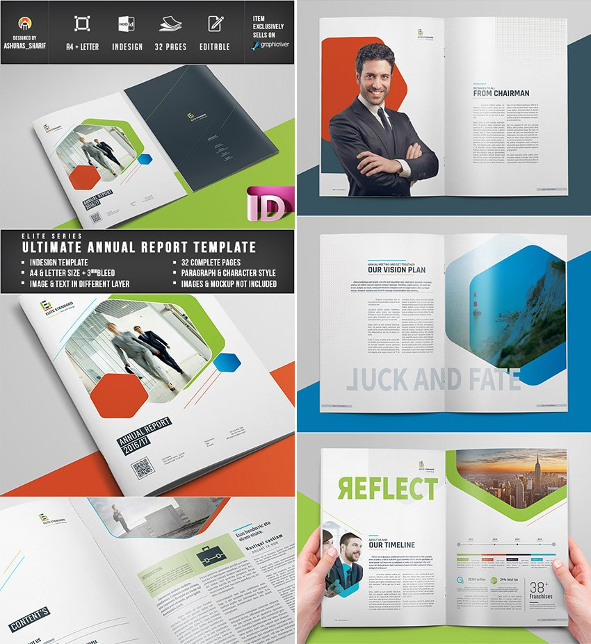 Annual Report Templates  With Awesome Indesign Layouts Regarding Annual Report Word Template