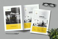 Annual Report Templates Word  Indesign intended for Word Annual Report Template