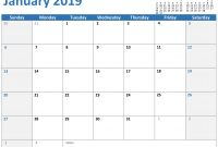 Any Year Custom Calendar in Microsoft Powerpoint Calendar Template