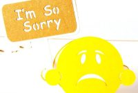 Apology Card Templates   Free Printable Word  Pdf in Sorry Card Template