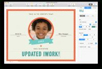 Apple Updates Iwork For Mac With Force Touch And Split View Support regarding Pages Certificate Templates