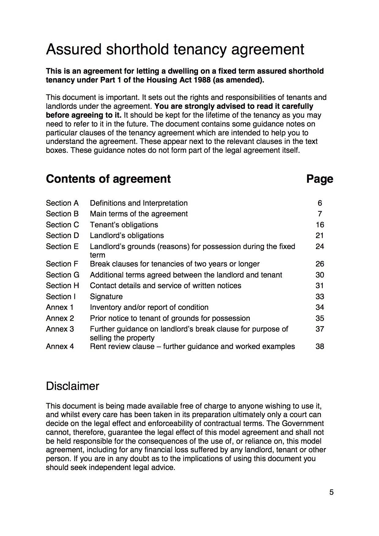 Assured Shorthold Tenancy Agreements Explained  Plumbers London Pertaining To Assured Shorthold Tenancy Agreement Template