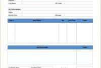 Auto Repair Invoice Template Word Unique Simple Invoice Templates with Mechanic Shop Invoice Templates