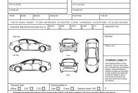 Auto Transport Bill Of Lading Print Quality Vehicle Condition intended for Truck Condition Report Template