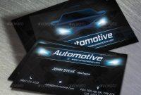 Automotive Business Card Voksrider  Graphicriver pertaining to Automotive Business Card Templates