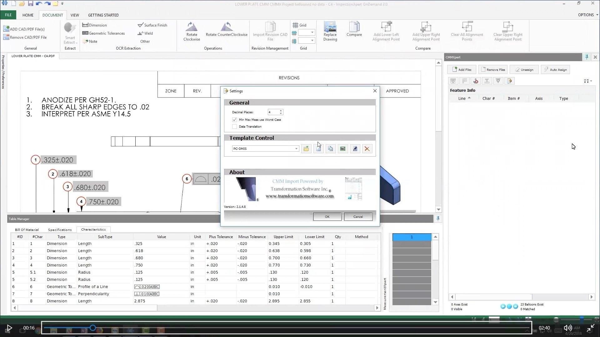 Autopopulate Cmm Data Into Your Fais Throughout Part Inspection Report Template