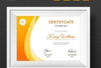 Award Certificate Template  Design Ideas For Small Spaces intended for Small Certificate Template