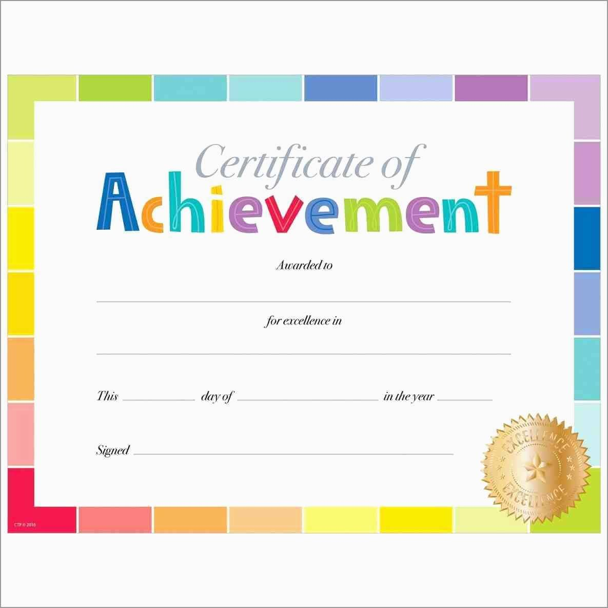 Award Certificate Template Free Amazing Free Printable Certificate Throughout Free Printable Certificate Templates For Kids