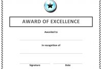Award Certificate Template Free Recognition Surprising Ideas with Best Employee Award Certificate Templates