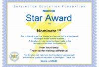 Award Certificate Template Free  Tate Publishing News throughout Star Award Certificate Template