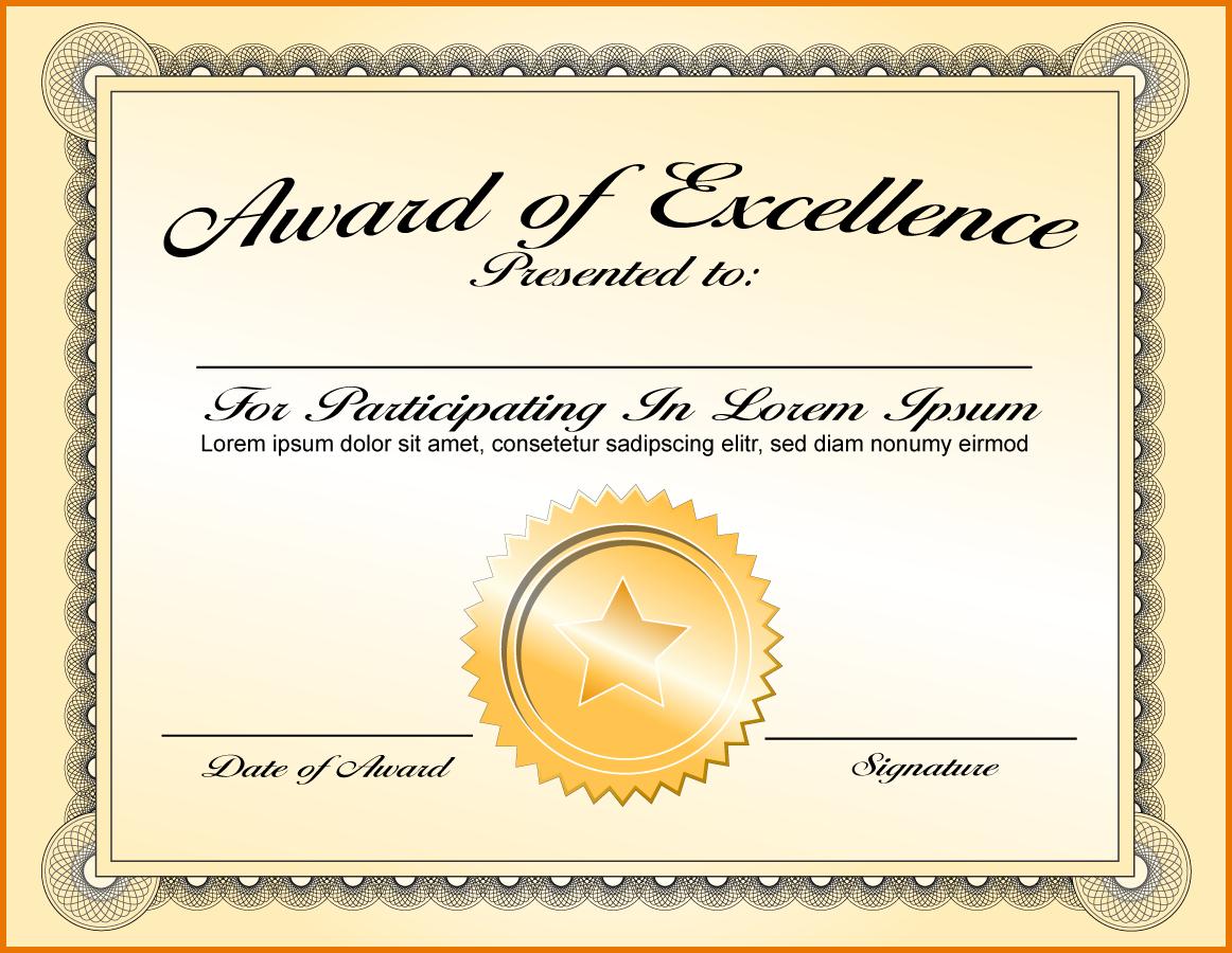 Award Format  Sansurabionetassociats In Life Membership Certificate Templates