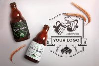 Awesome Beer Bottle Mockups For Brewing Industry  Colorlib intended for Beer Label Template Psd