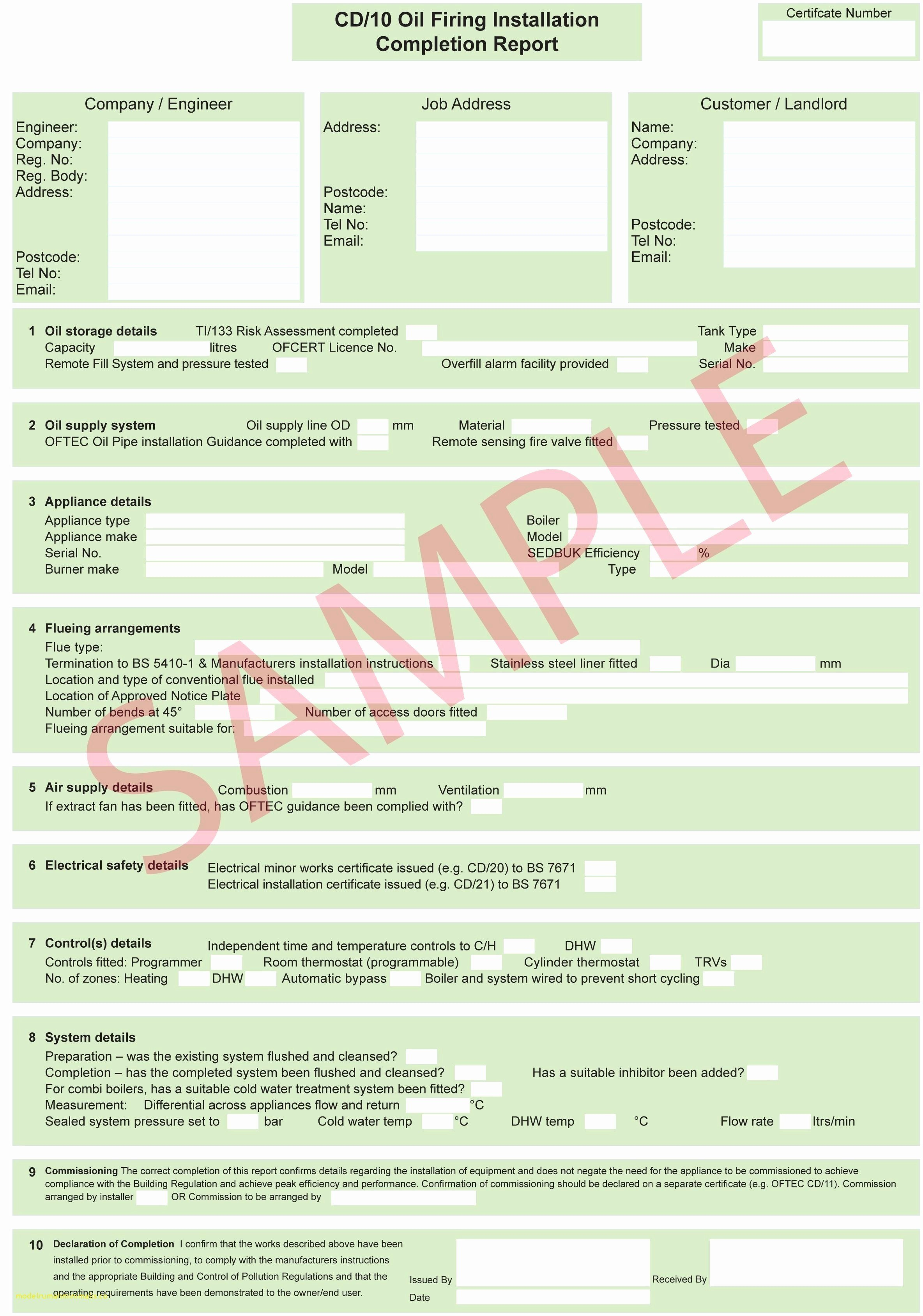Awesome Collection For Electrical Isolation Certificate Template In Electrical Isolation Certificate Template