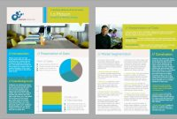 Awesome Corporate Brochure Templates Free Download  Best Of Template for Single Page Brochure Templates Psd