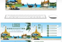 Awesome Ppt Template For Tourism And Travel Industry For Unlimited within Tourism Powerpoint Template