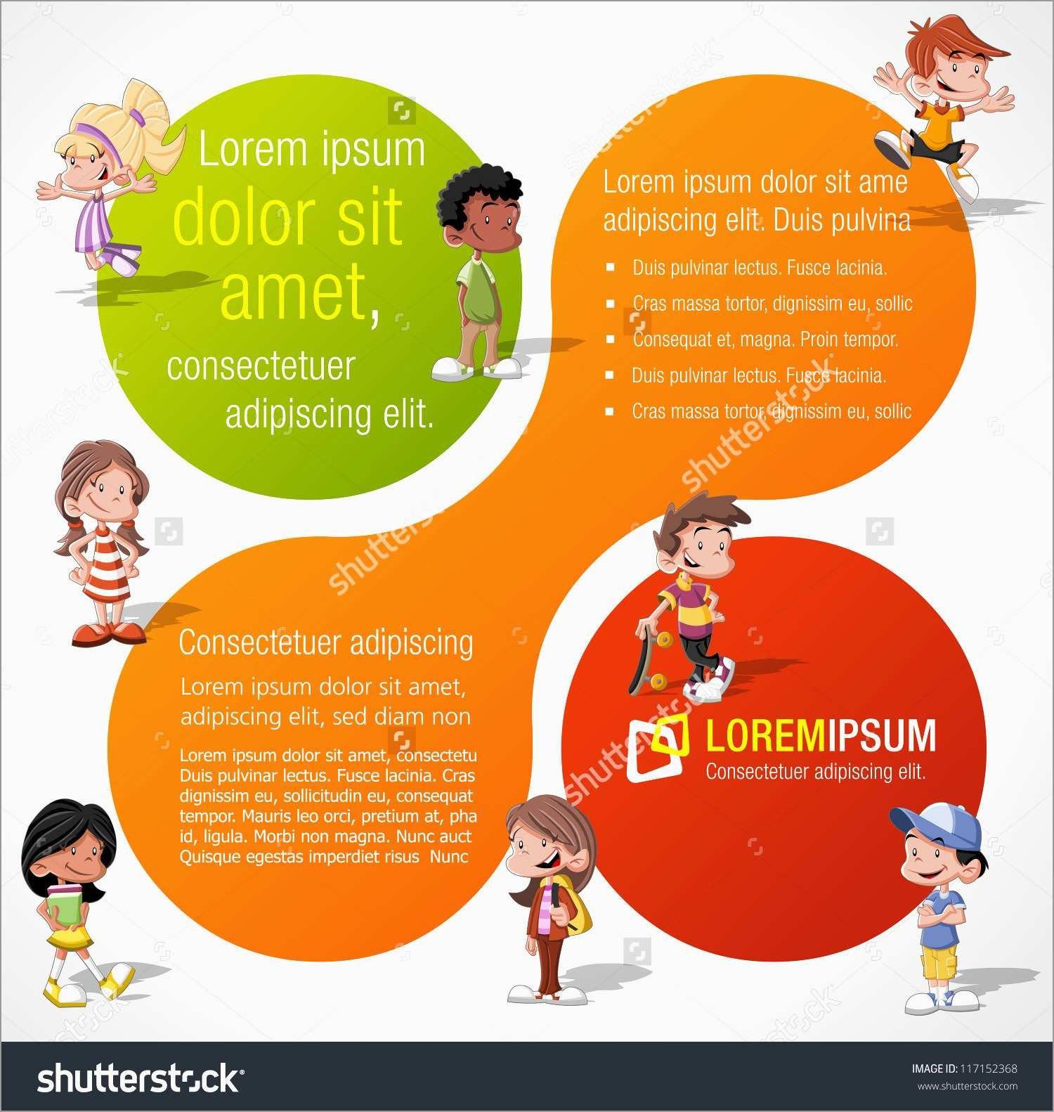 Awesome Preschool Brochure Template Free  Best Of Template Throughout Play School Brochure Templates