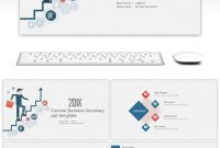 Awesome Summary Of Business Summary Report Work Summary Ppt Template for Work Summary Report Template