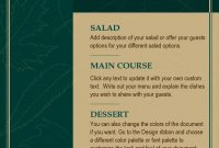 Awesome Thanksgiving Menu Templates ᐅ Template Lab pertaining to Design Your Own Menu Template