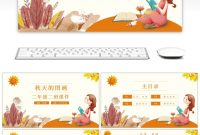 Awesome The Ppt Template Of Fairy Tale Language Courseware For The in Fairy Tale Powerpoint Template