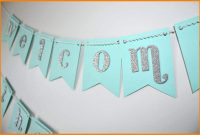 Baby Shower Banner Templates Template Ideas Diy Excellent Flag pertaining to Baby Shower Banner Template