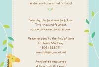 Baby Shower Boy Invitation Templates Free  Try It Free Login Learn regarding Baby Shower Menu Template Free