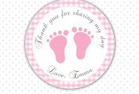 Baby Shower Labels For Favors Templates • Baby Showers Design for Baby Shower Label Template For Favors