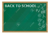 Back To School Whiteboard In Classroom Poster And Banner Template regarding Classroom Banner Template
