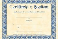 Baptism Certificate Template Pdf Ideas Awesome Of Broadman Word pertaining to Christian Baptism Certificate Template