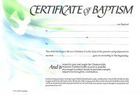 Baptism Certificate Xpeamuz  Sunday School  Certificate Templates regarding Christian Baptism Certificate Template
