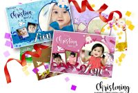 Baptism Christening Dedication Free Design Templatemblogphotuz pertaining to Christening Banner Template Free