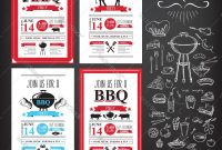 Barbecue Party Invitation Bbq Template Menu Design with regard to Fun Menu Templates