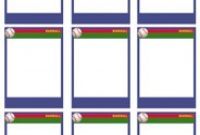 Baseball Card Size Template All Word New  Of – Flowerbeauty with Baseball Card Size Template