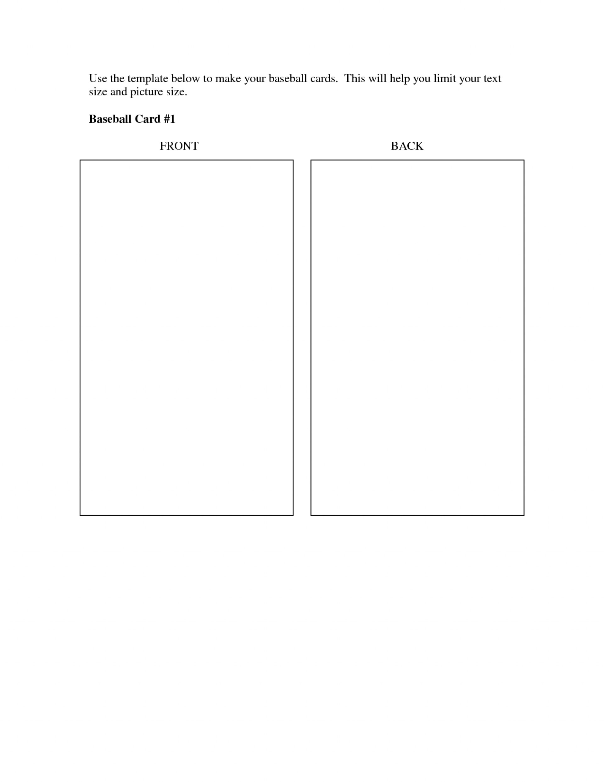 Baseball Card Size Template  Trading Remarkable Ideas Regarding Baseball Card Size Template