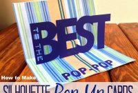 Basic Silhouette Pop Up Card Tutorial Free Studio Pop Up Template inside Silhouette Cameo Card Templates