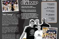 Basketball Camp – Allisan Looman inside Basketball Camp Brochure Template