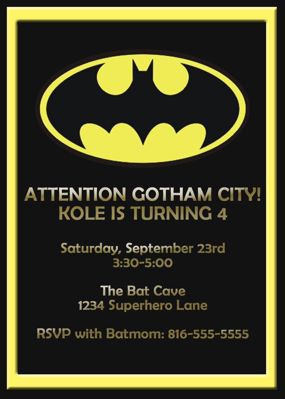 Batman Birthday Card Template  Google Search  Card Shop Labels With Regard To Batman Birthday Card Template