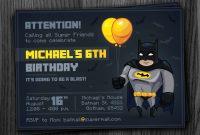 Batman Birthday Invites Free Printables  Lego Batman Party inside Batman Birthday Card Template